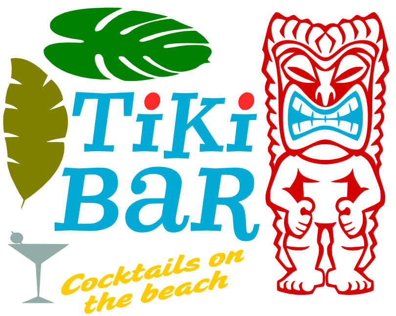 Free Tiki Bars SVG Cutting File
