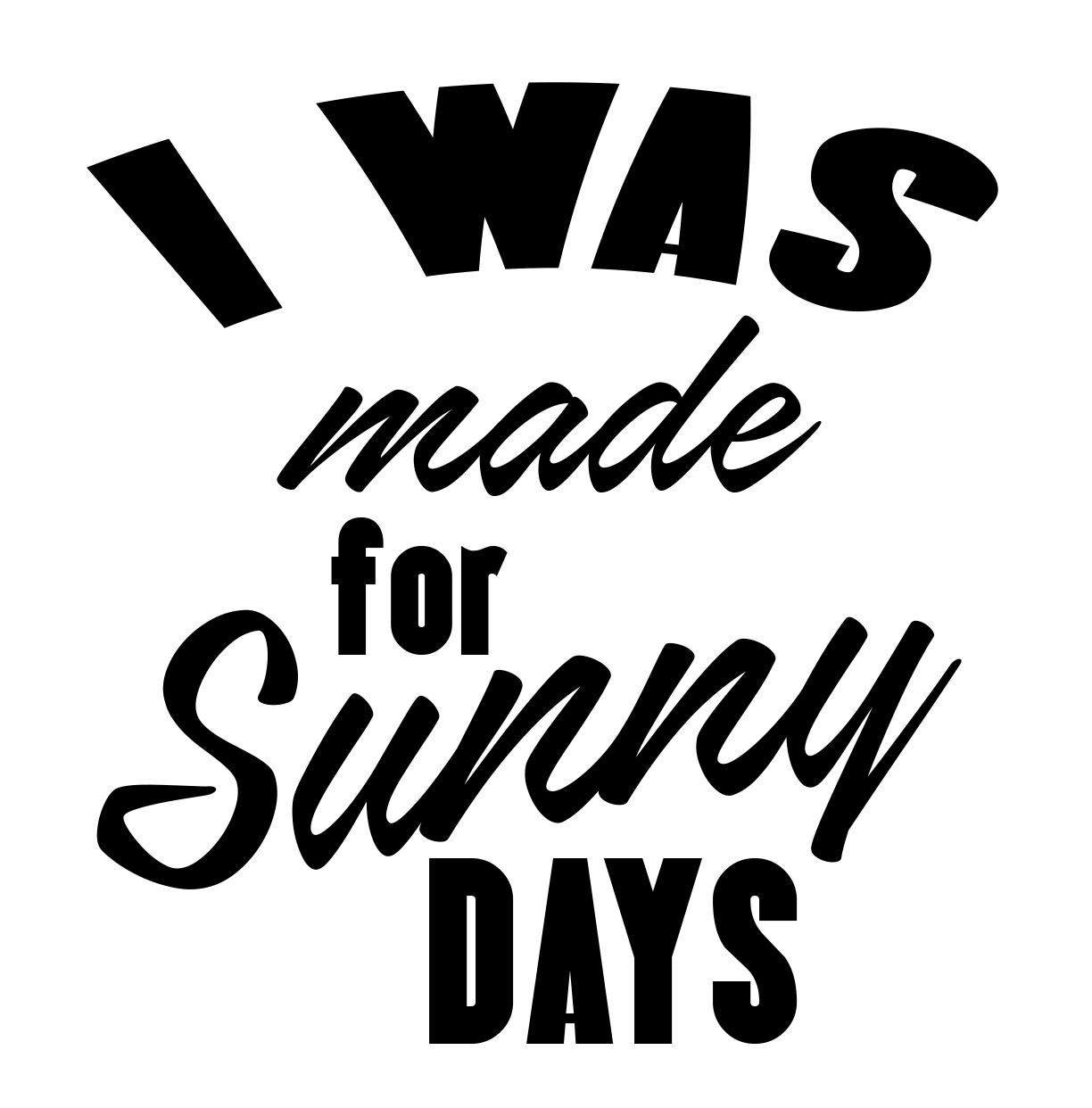 Free Sunny Days SVG File