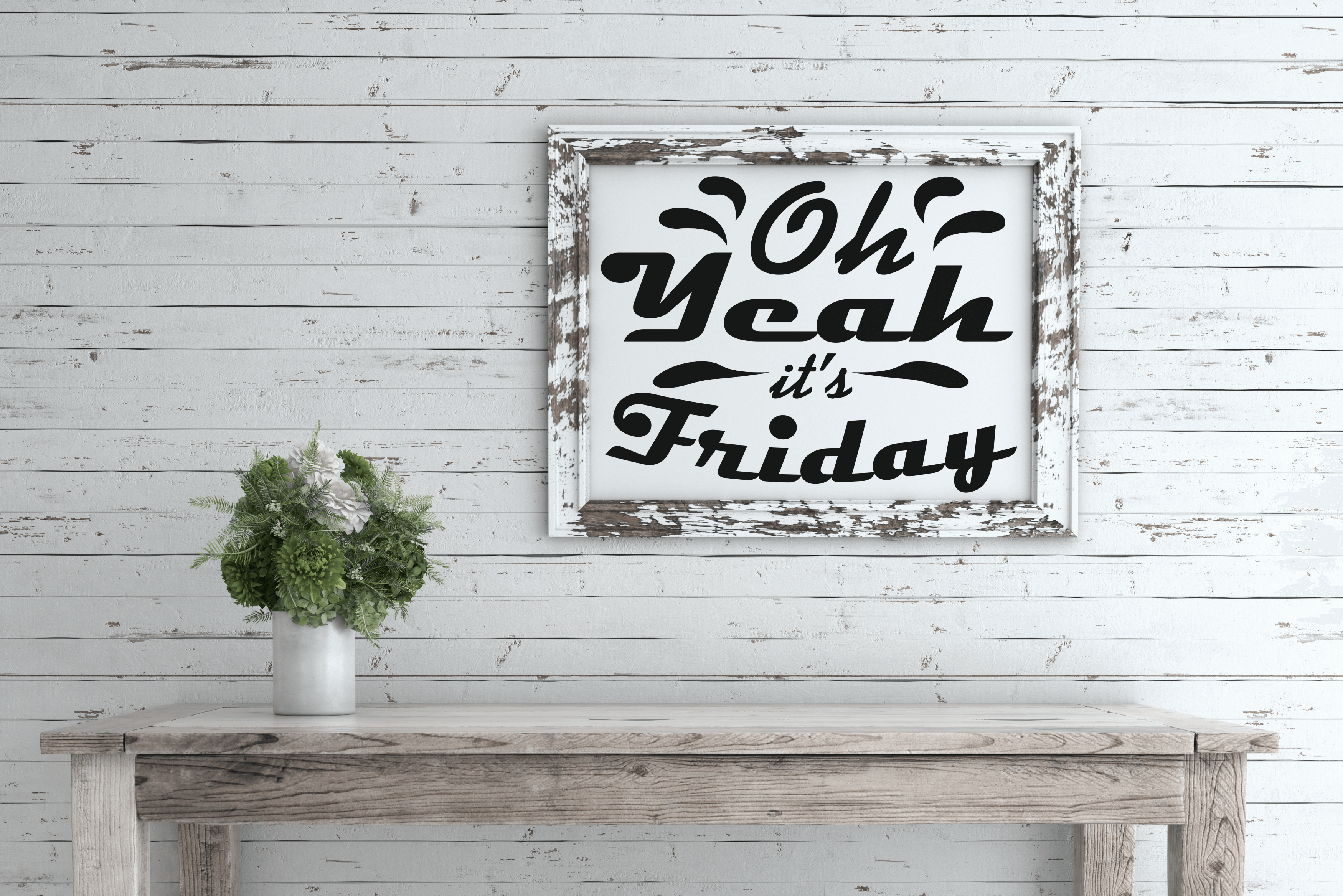 Free Oh Yeah its Friday SVG File