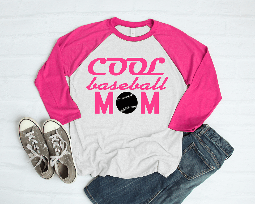 Free Cool Baseball Mom SVG File
