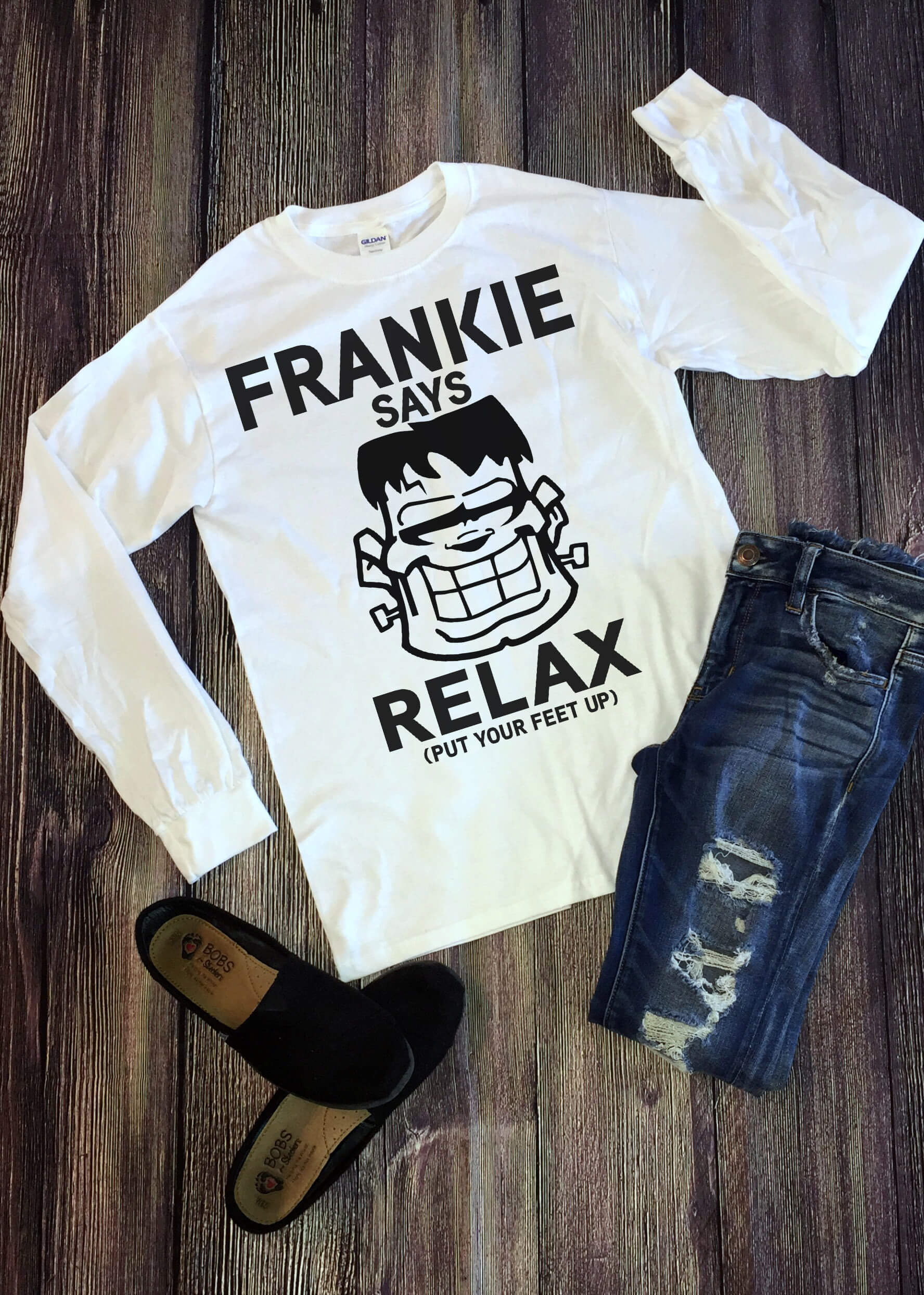 Free Frankie Relax SVG File