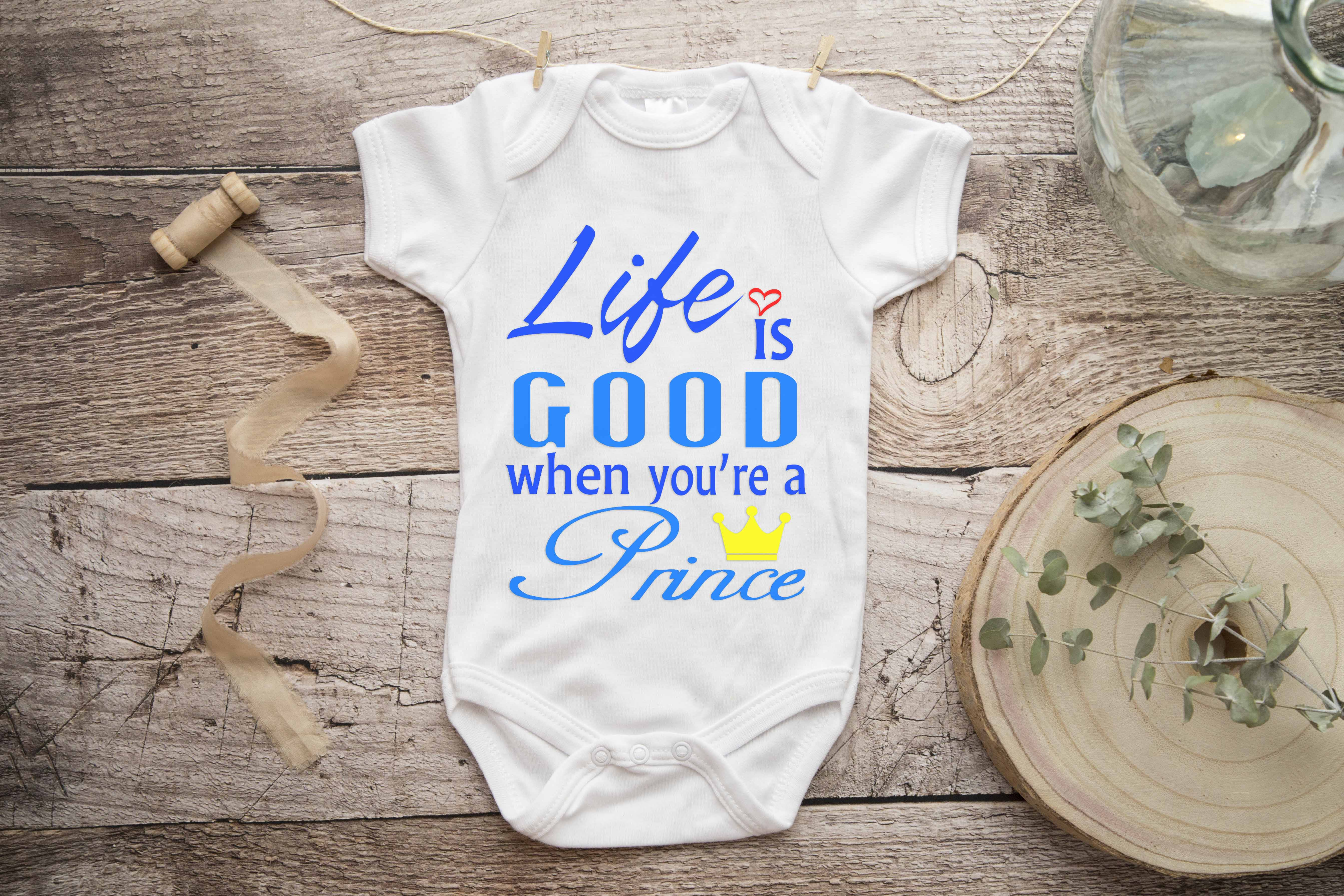 Free Life is Good Prince SVG File