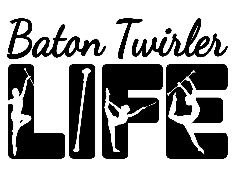 Free Baton Twirler Life SVG File