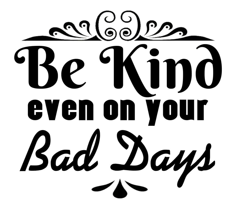 Free Be Kind SVG File