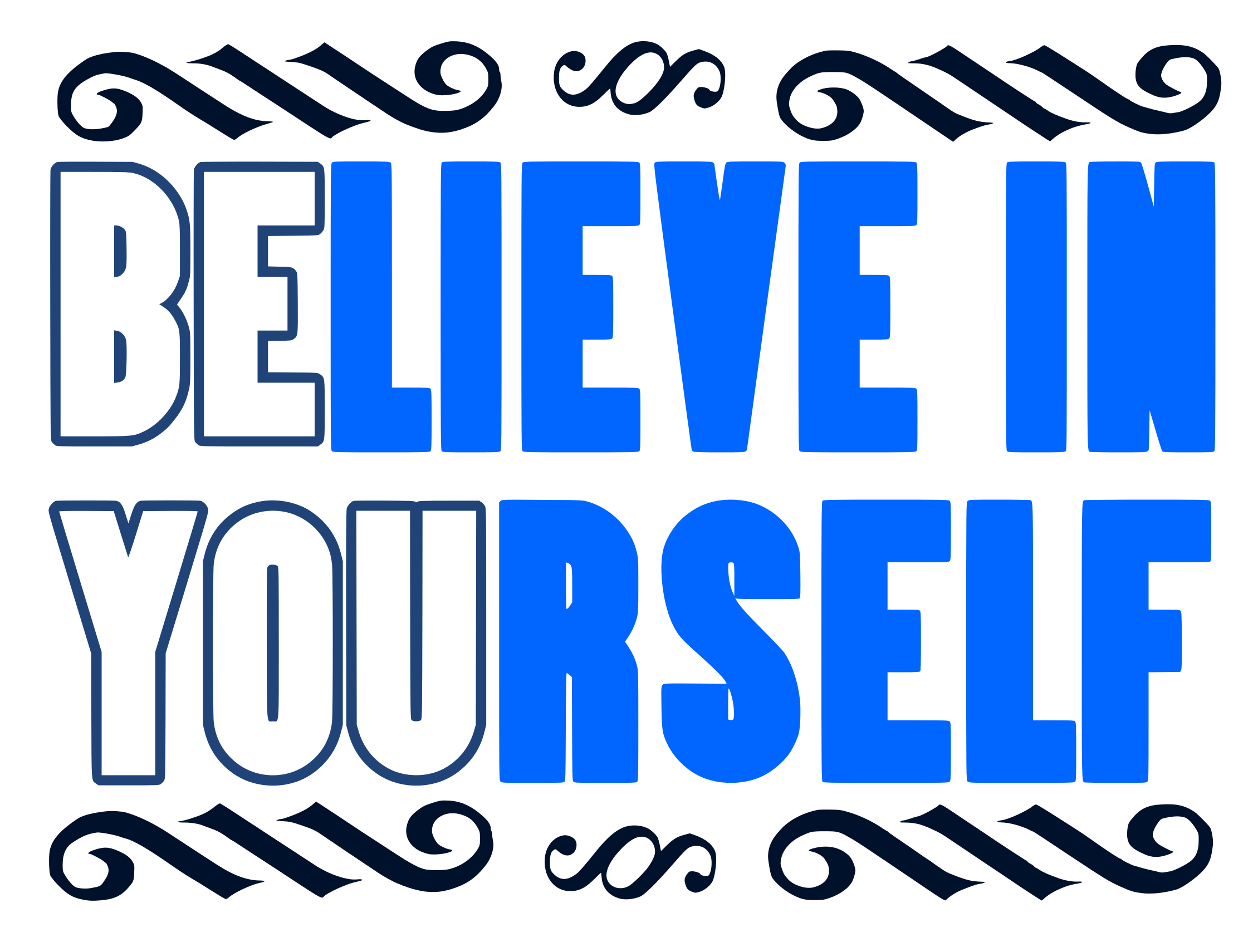 Free Be You SVG File