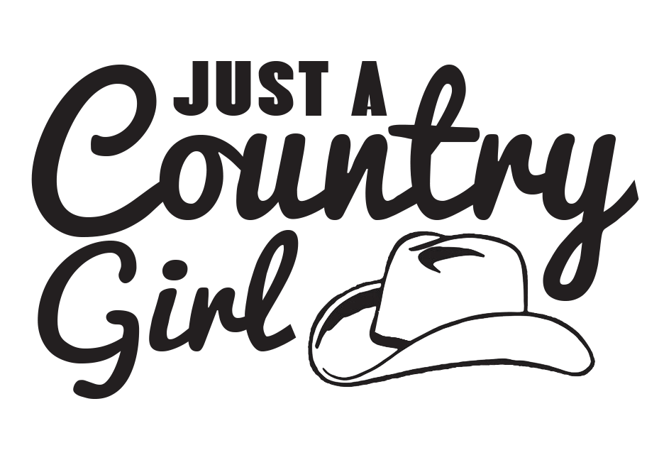 Free Just a Country Girl SVG File