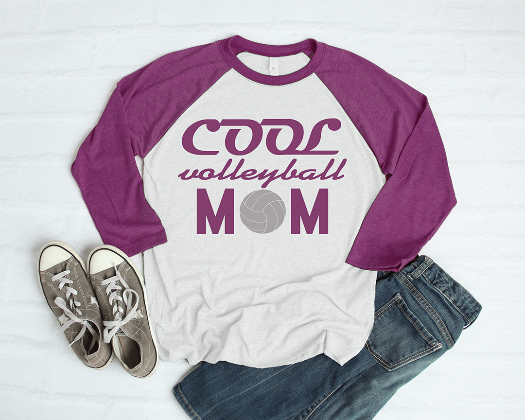 Free Volleyball Mom SVG File