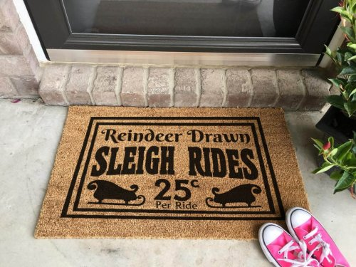 Free Sleigh Rides SVG File