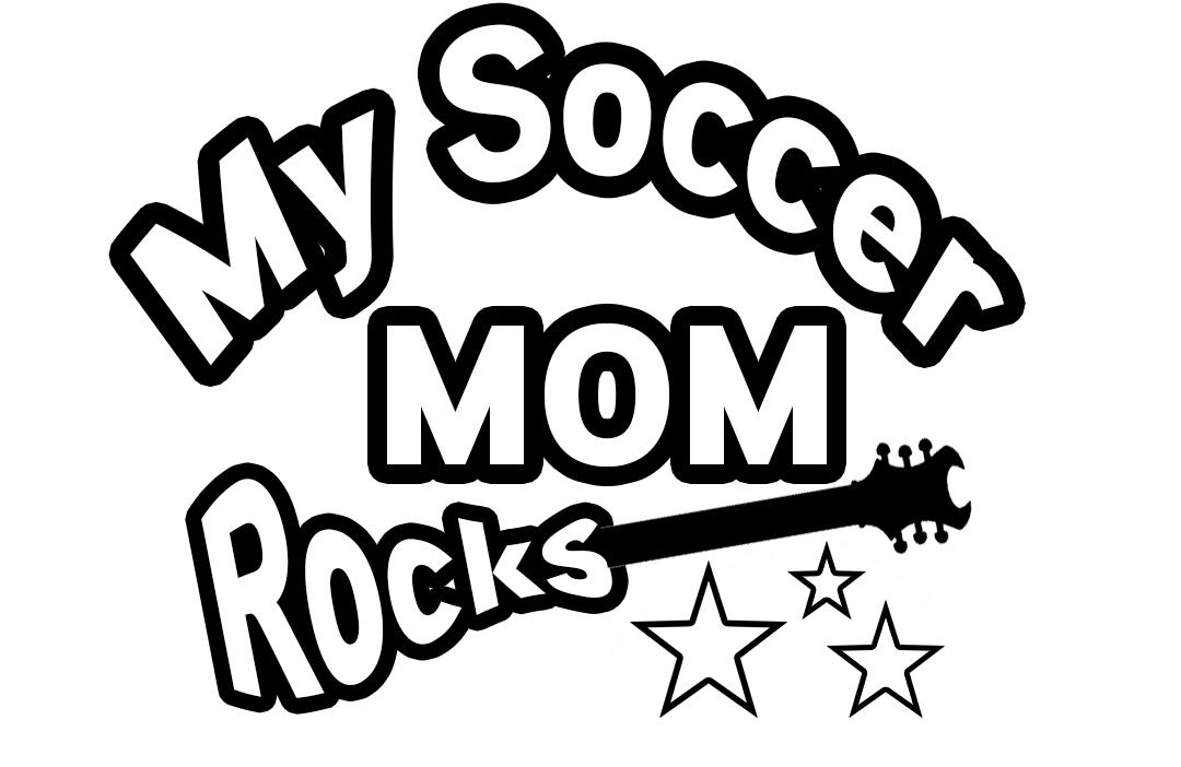 Free Soccer Moms Rock SVG File