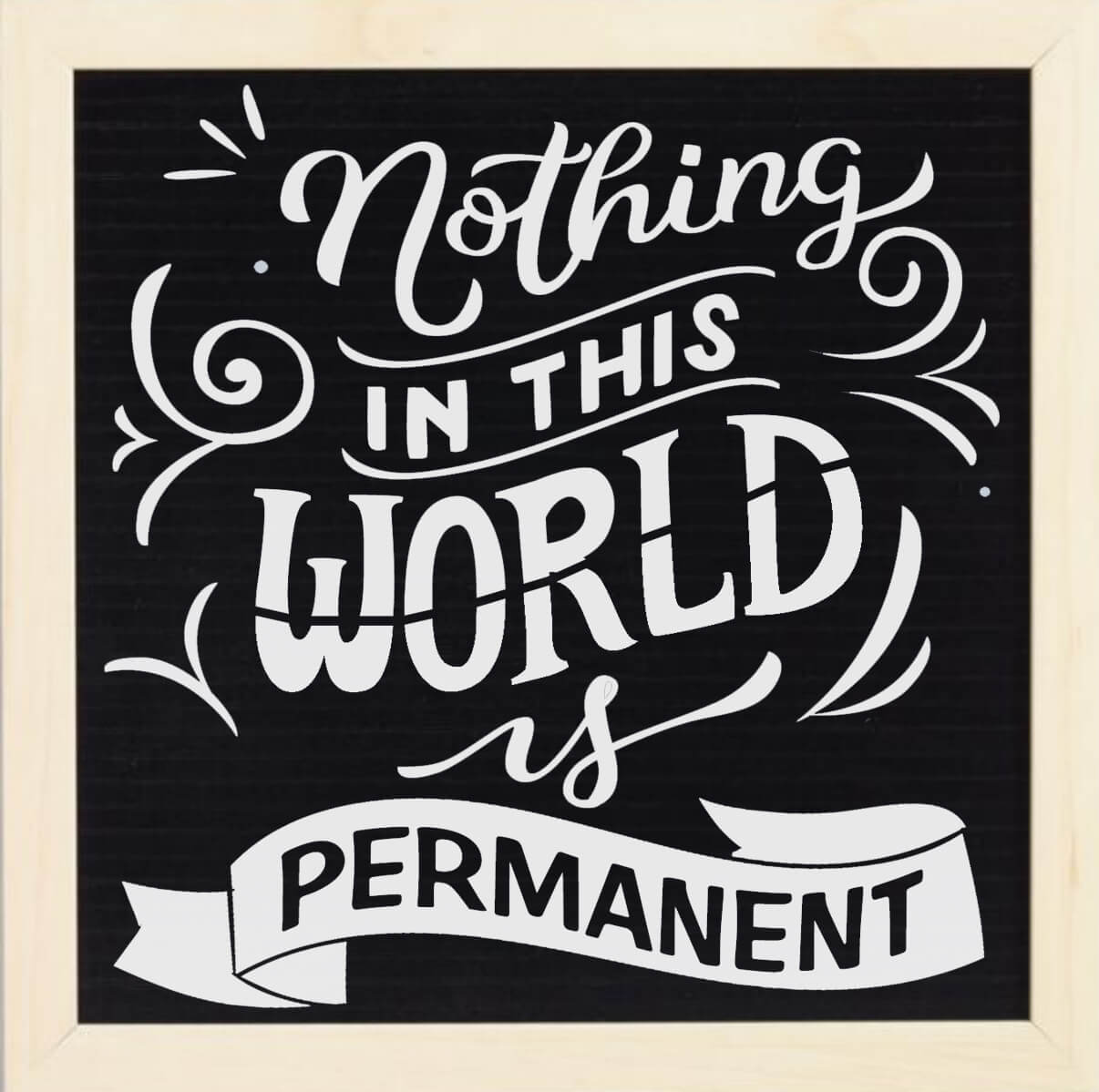 Free Nothing in this World SVG File