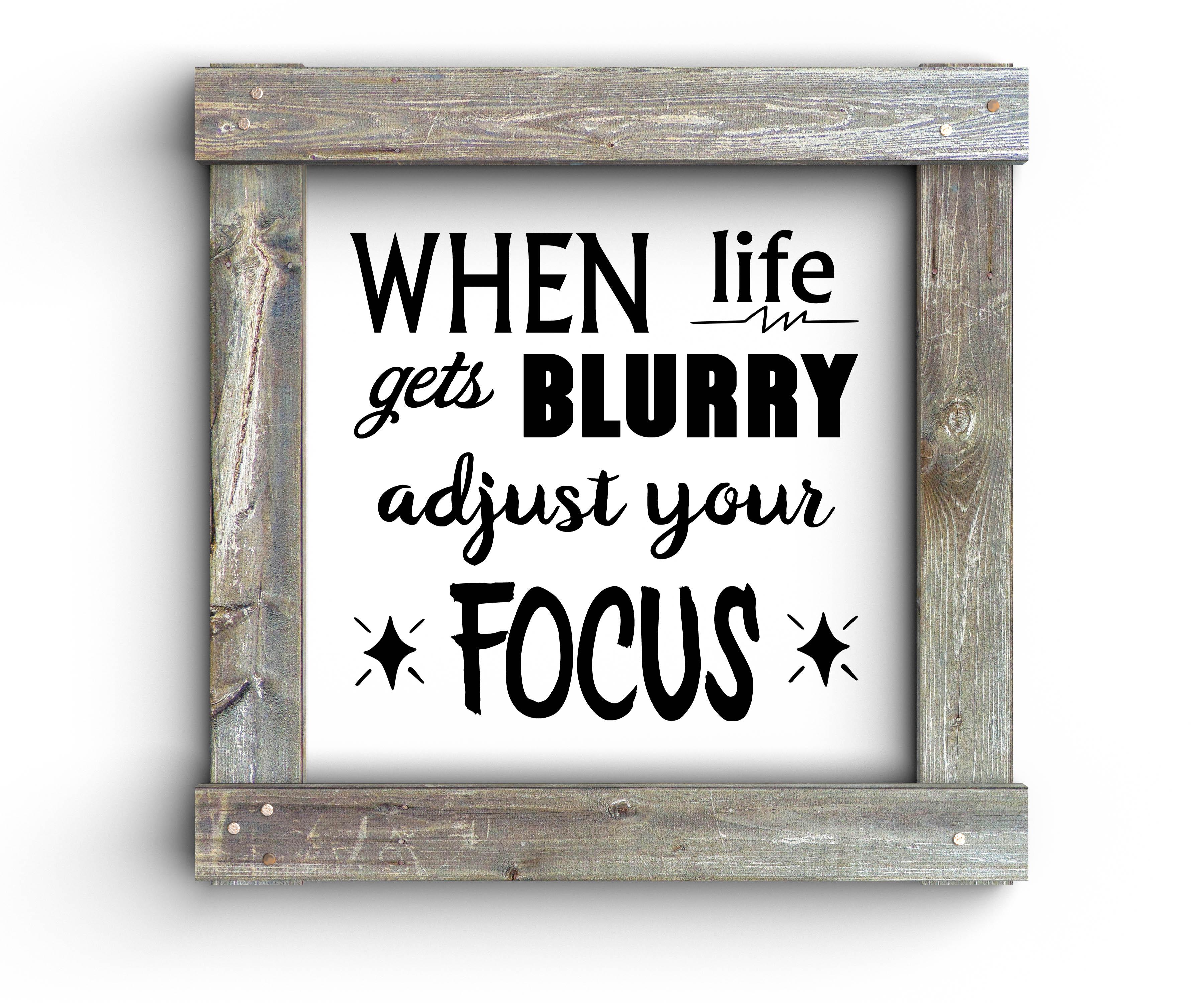Free Adjust your Focus SVG File