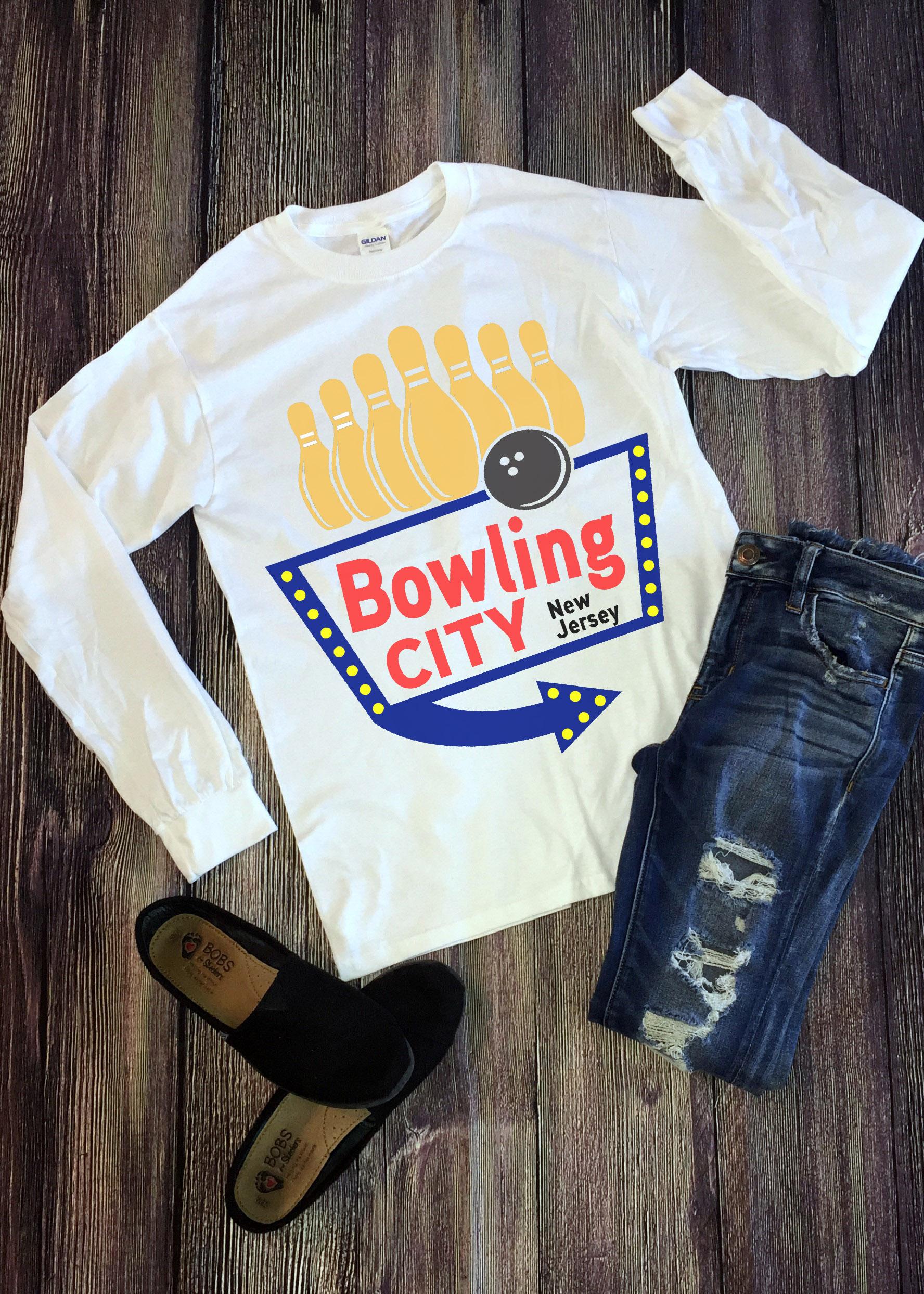 Free Bowling City SVG File
