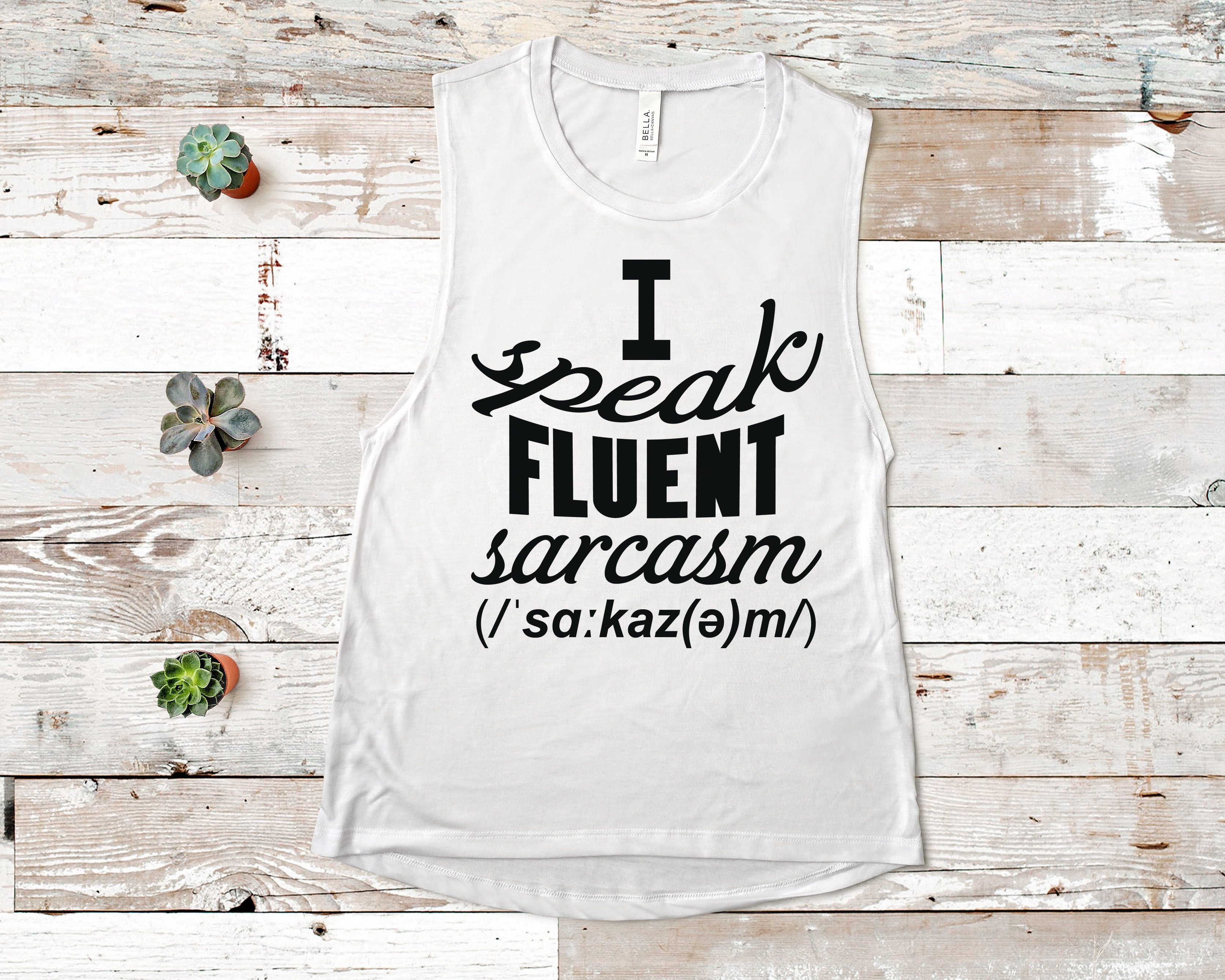 Free I speak fluent Sarcasm SVG File