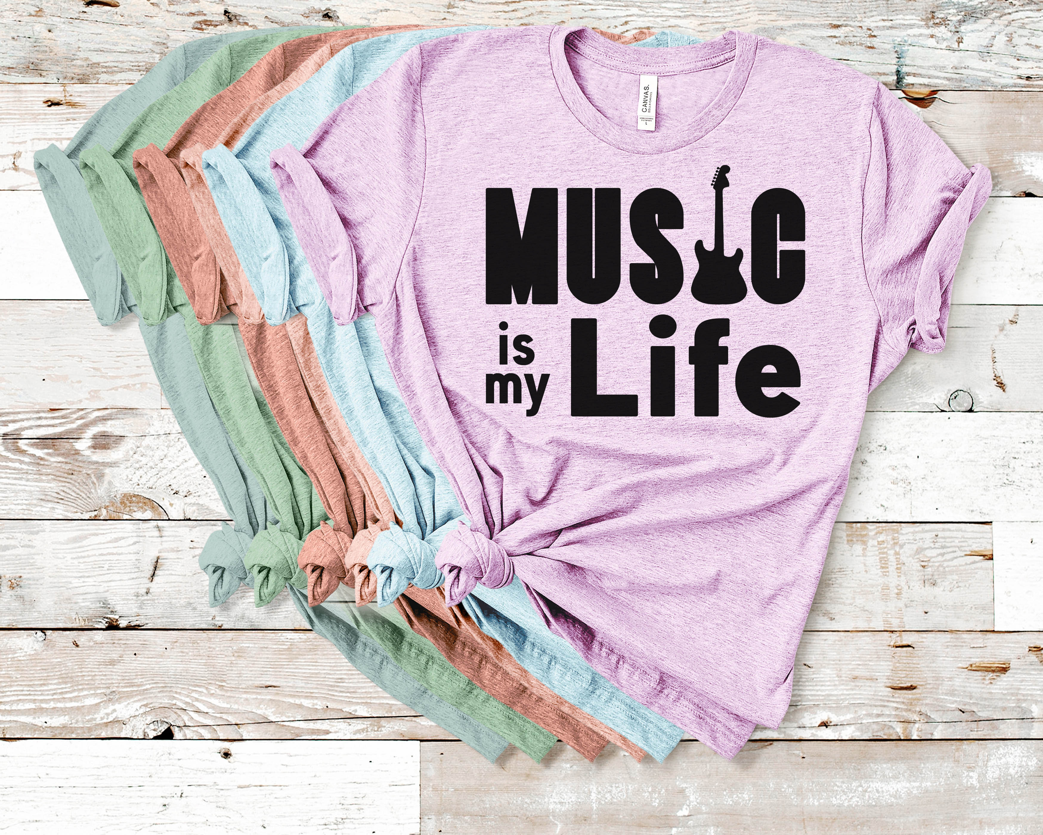 Free Music is my Life SVG File