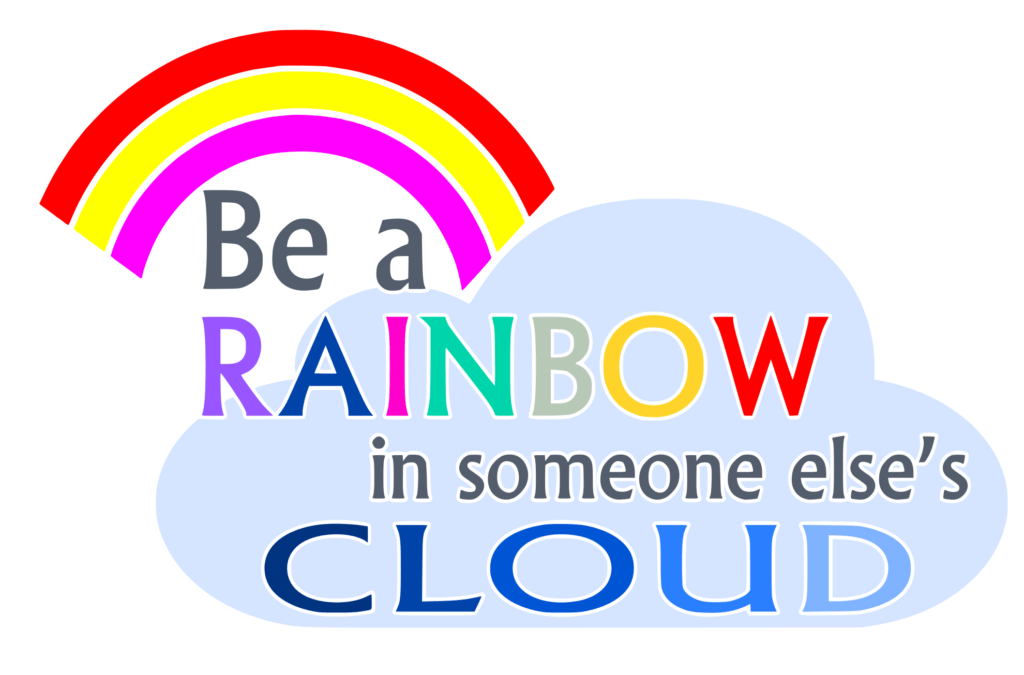 Free Be a Rainbow SVG File