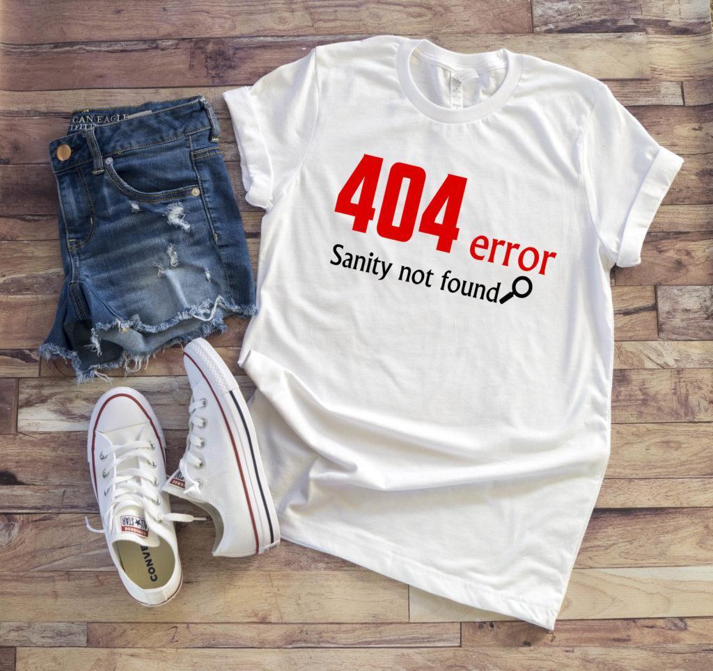 Free Error 404 Sanity Not Found SVG File
