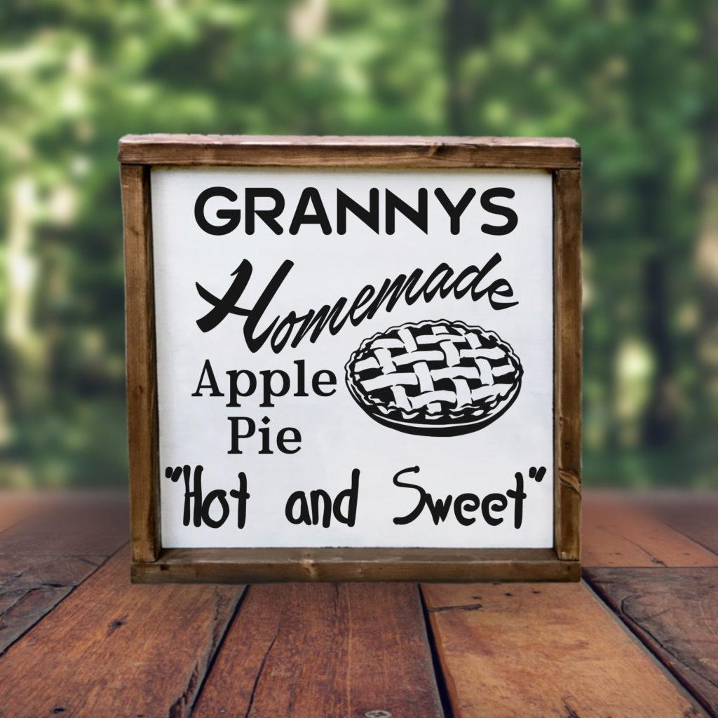 Free Grannys Apple Pie SVG File