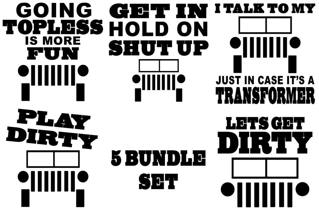 Free 4 x 4 Set SVG Files