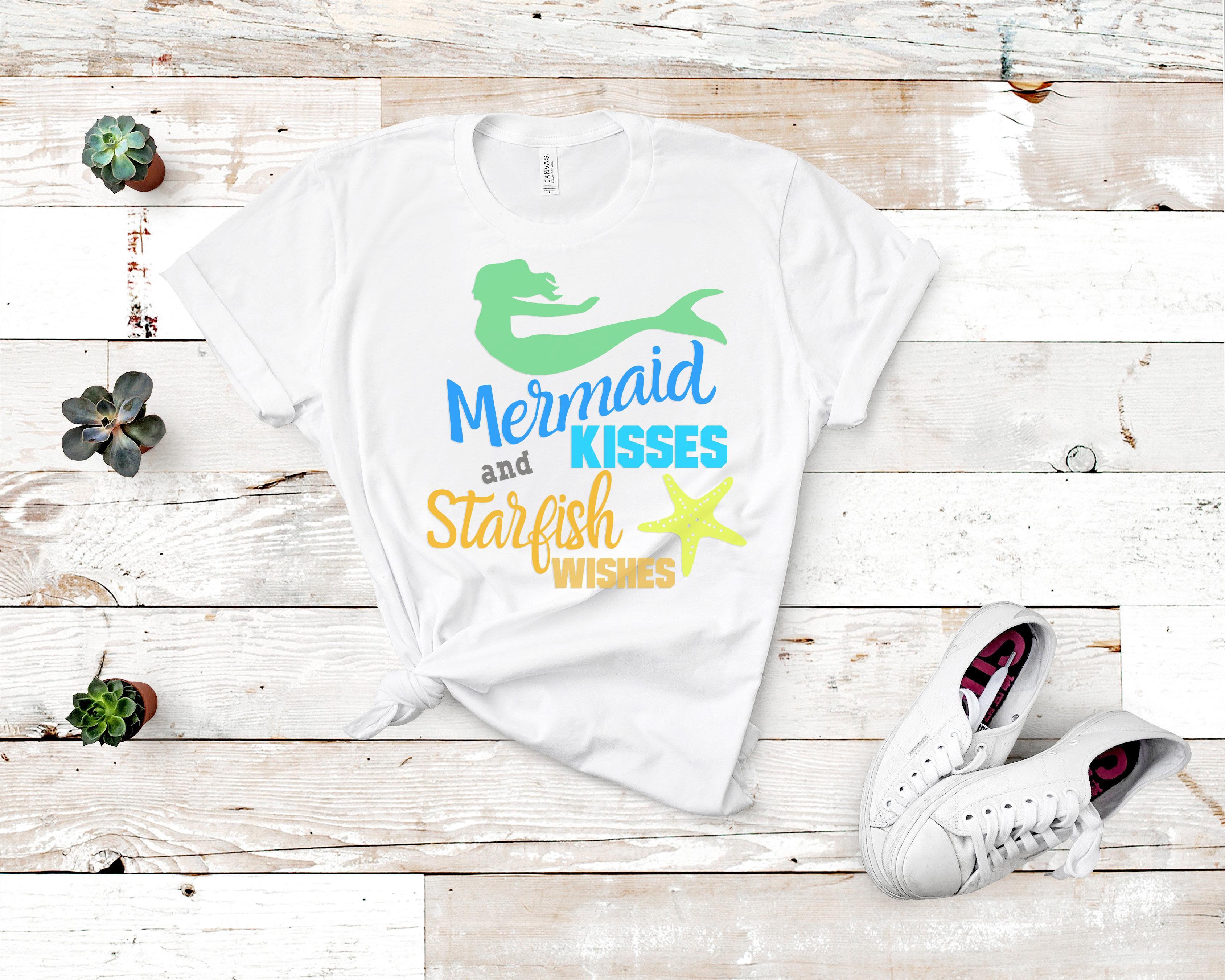 Free Mermaid Kisses SVG File