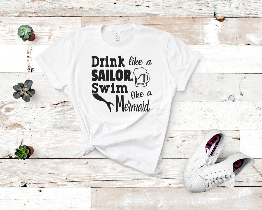 Free Drink Like a Sailor SVG File