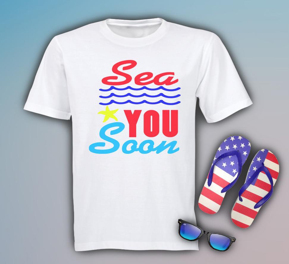 Free Sea you Soon SVG File