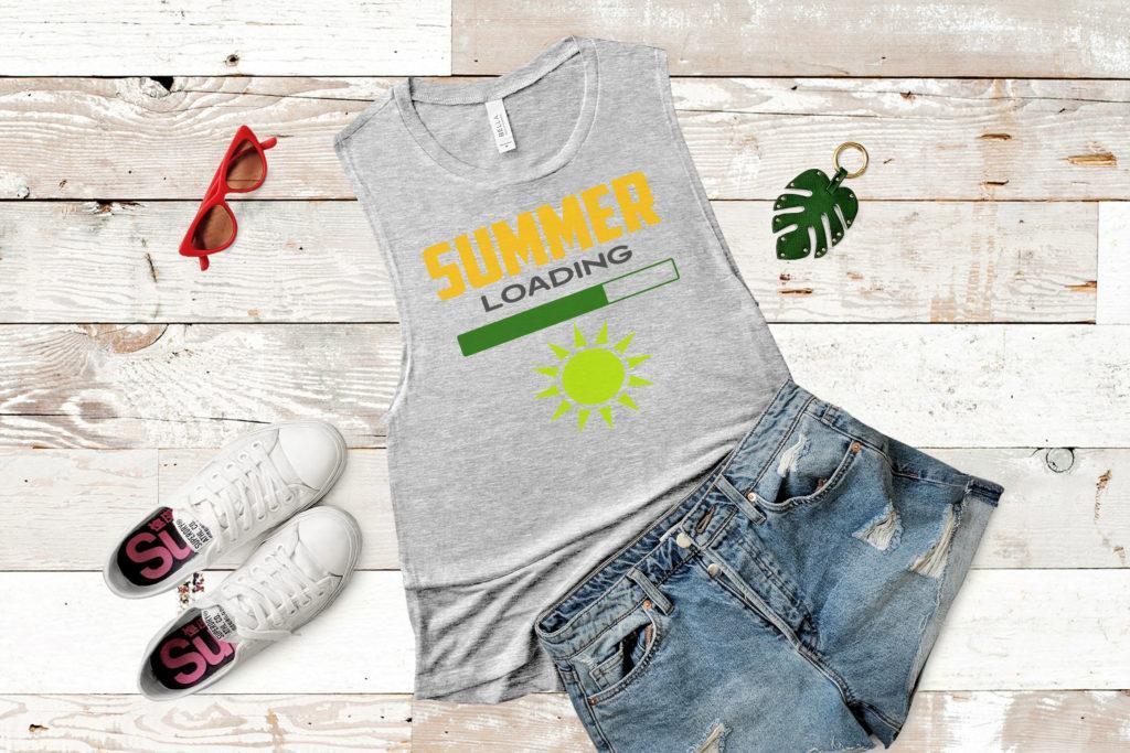 Free Summer Loading SVG File