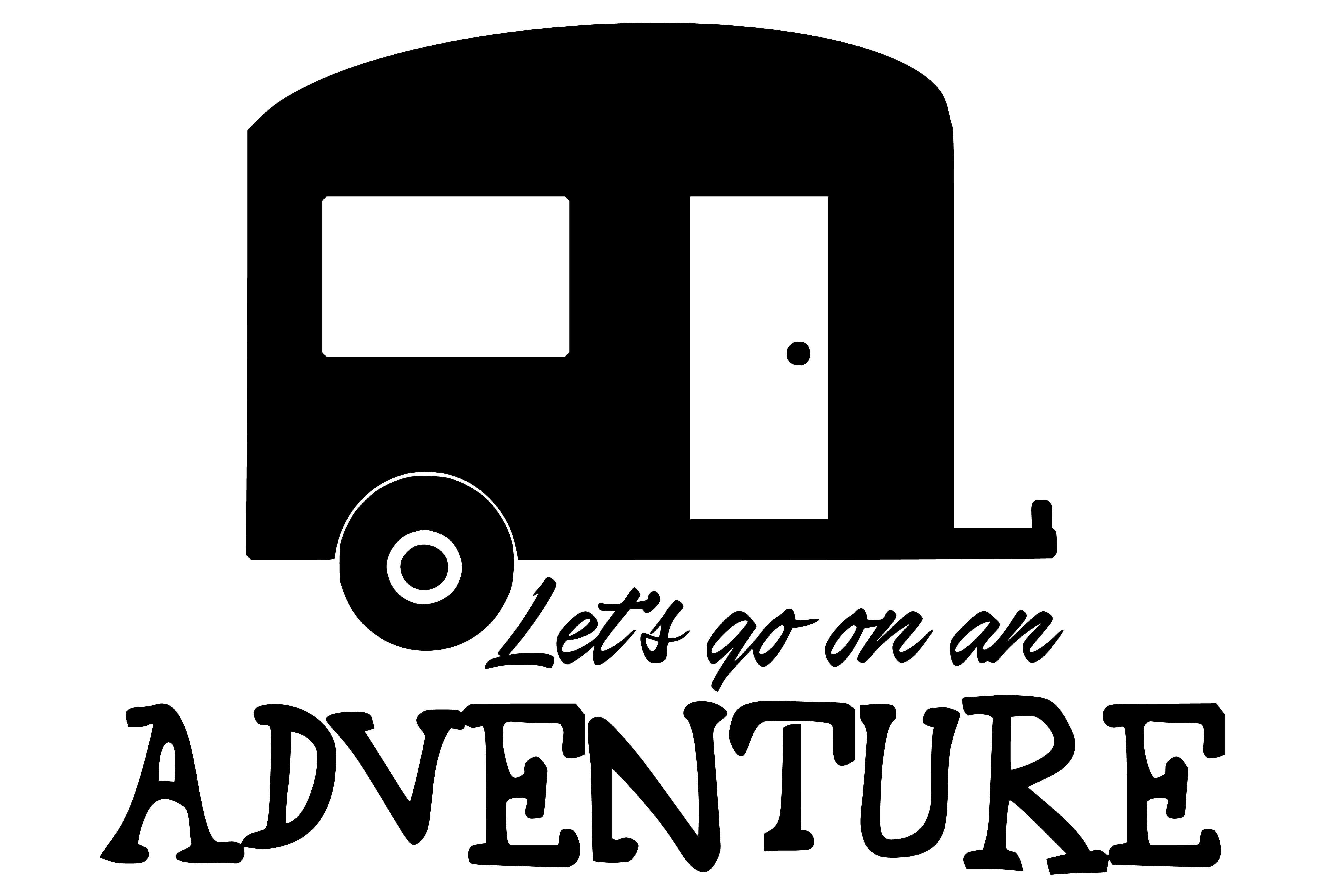 Free Lets Go on an Adventure SVG File