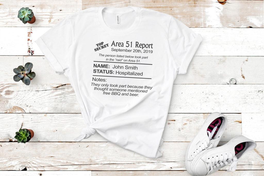 Free Area 51 Report SVG File