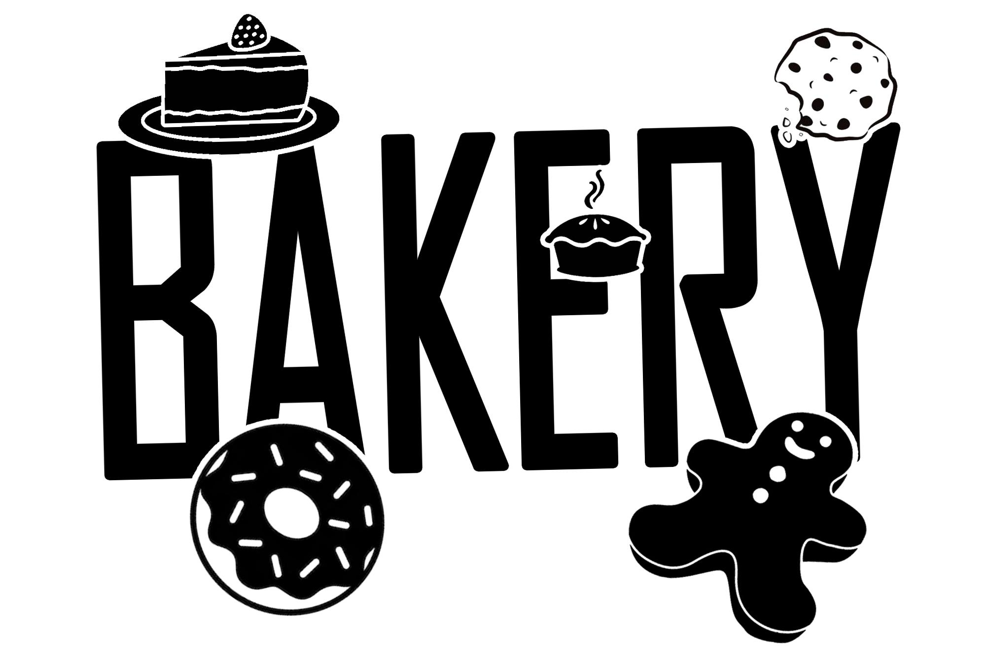 Free Bakery SVG File
