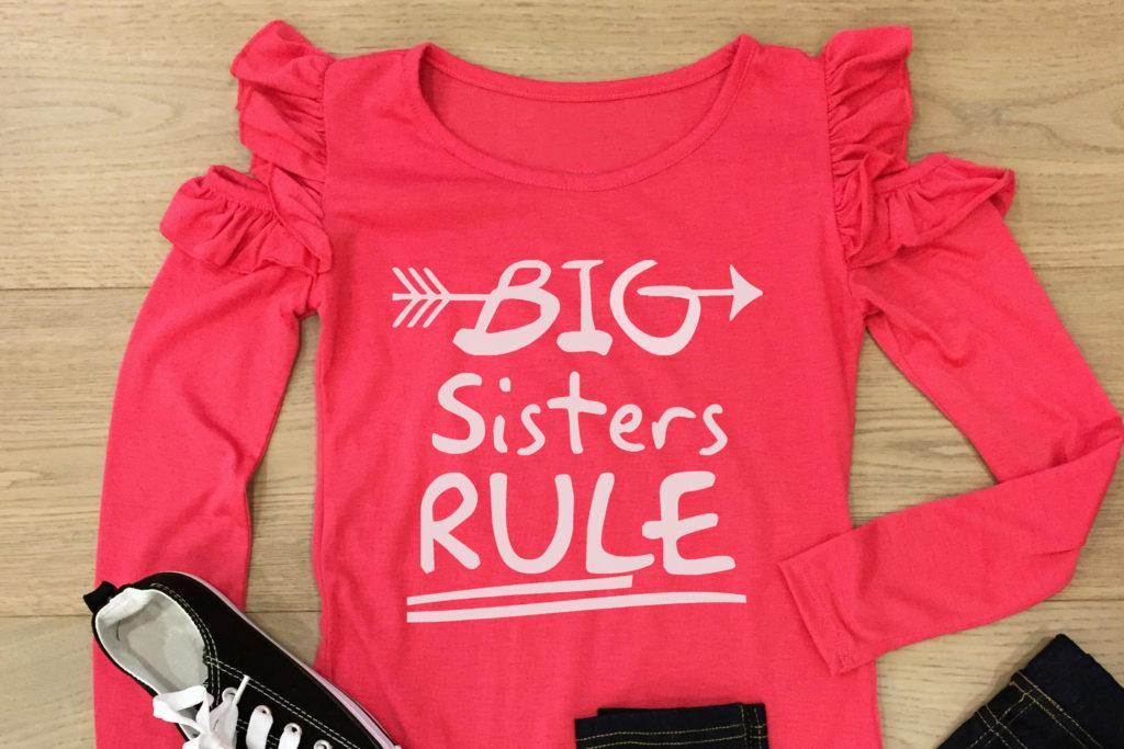 Free Big Sisters Rule SVG File