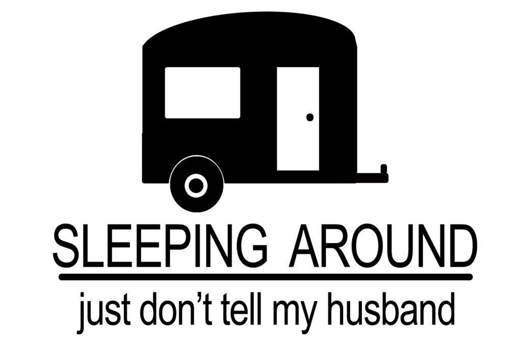 Free Sleeping Around SVG File