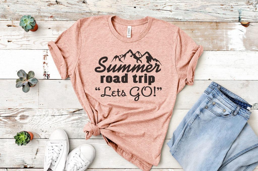 Free Summer Road Trip SVG File