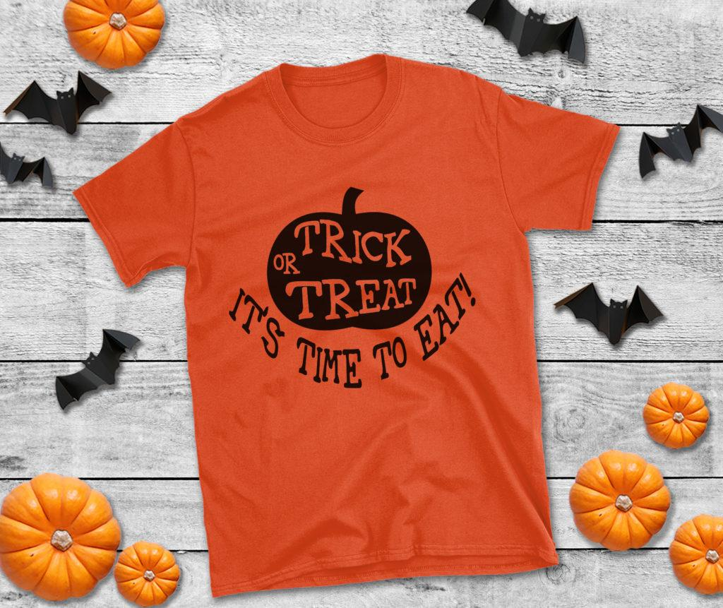 Free Trick or Treat SVG File