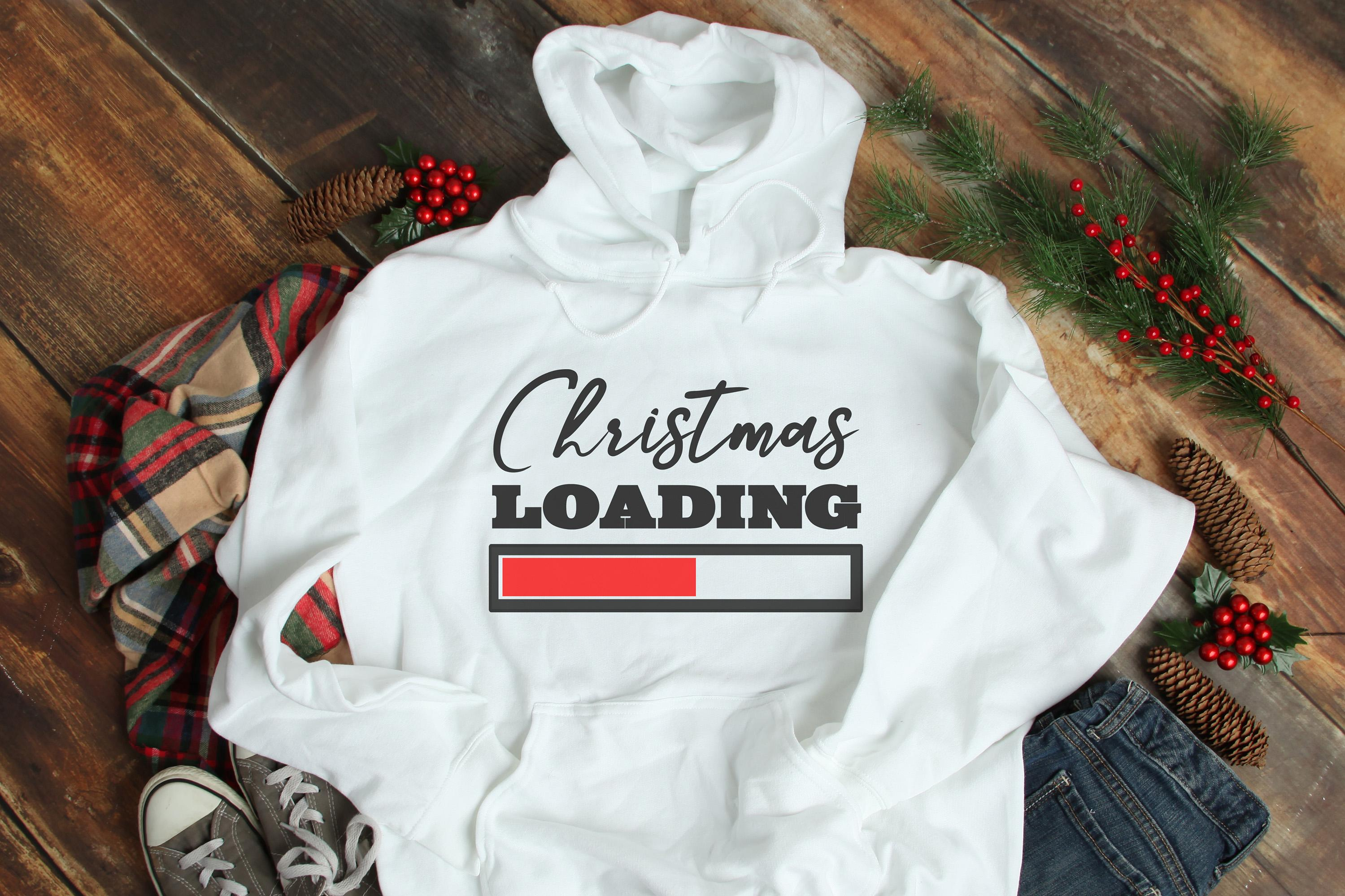 Free Christmas Loading SVG File