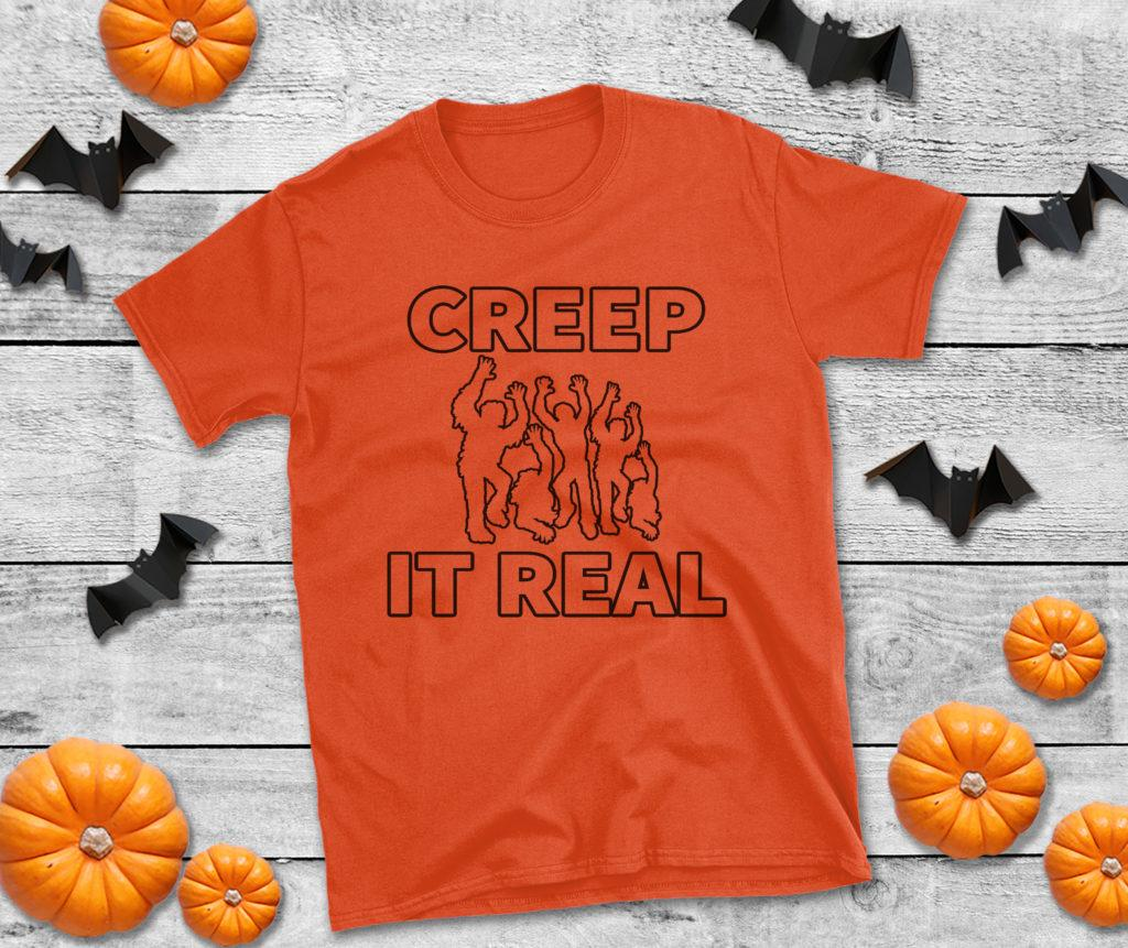 Free Creep it Real SVG File