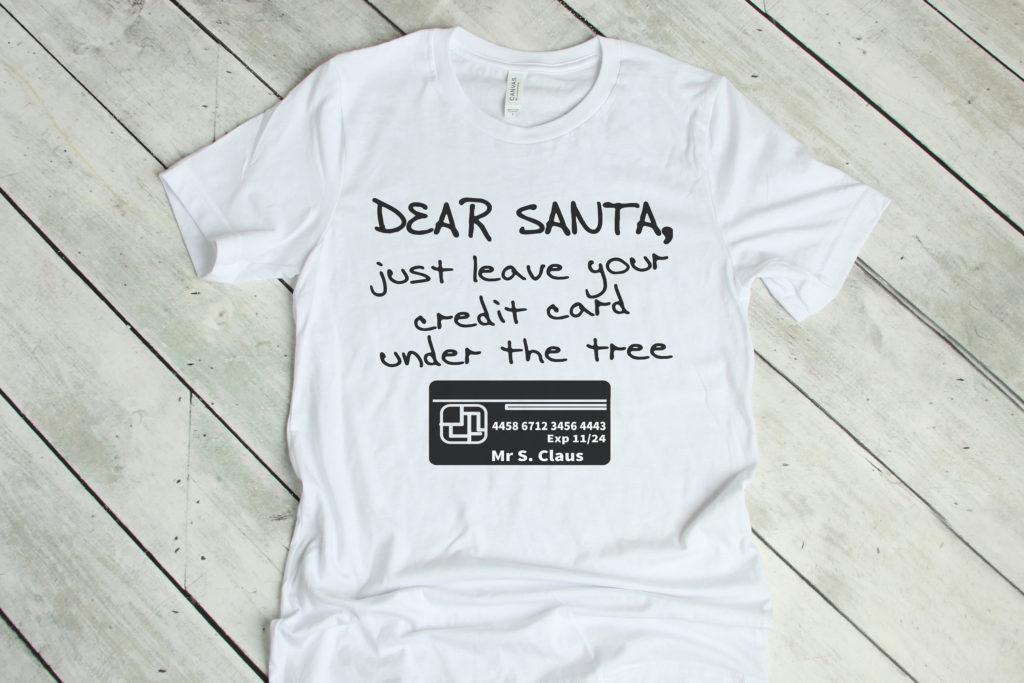 Free Dear Santa SVG File