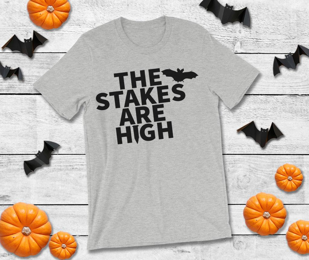 Free The Stakes are High SVG File