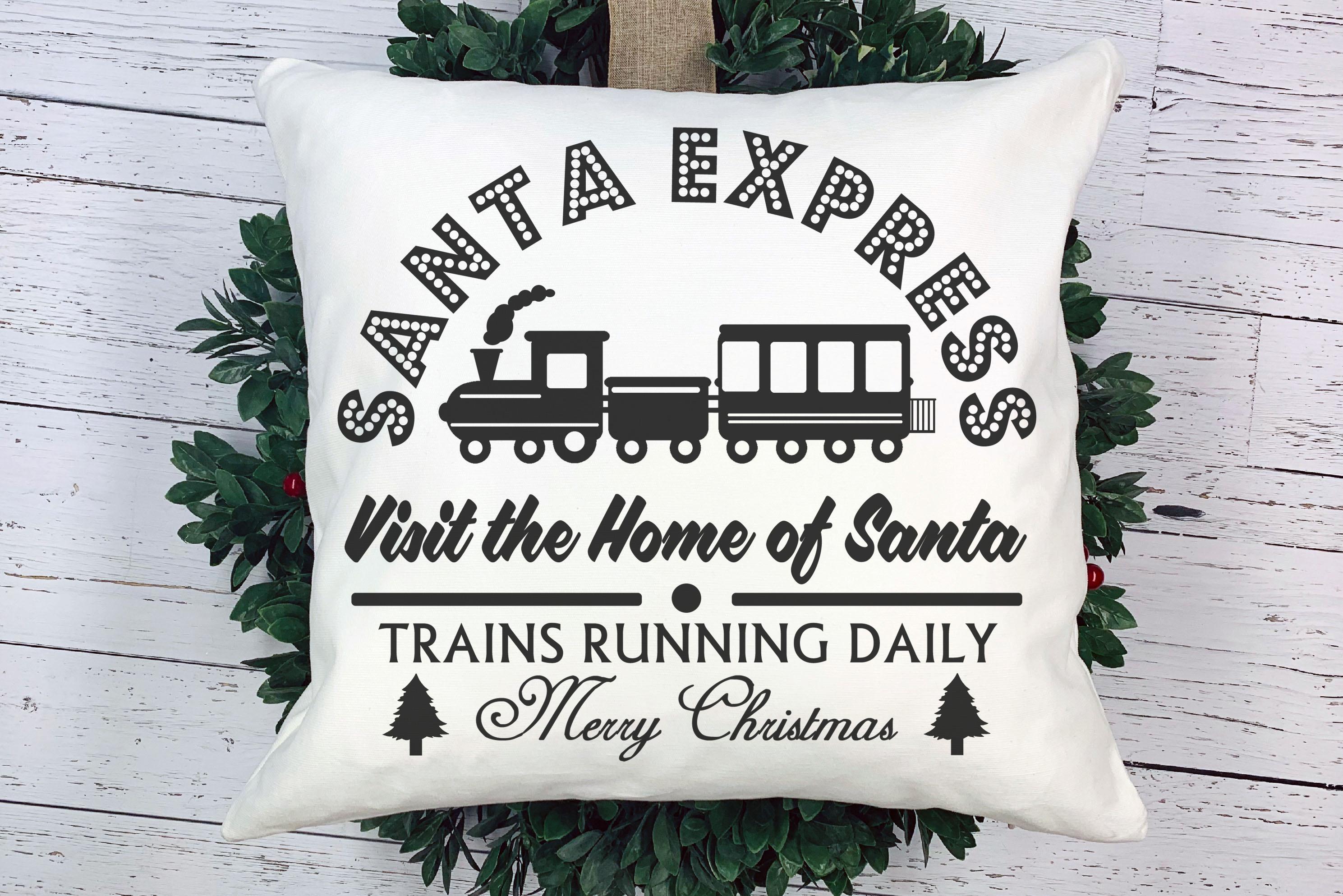 Free Santa Express SVG File