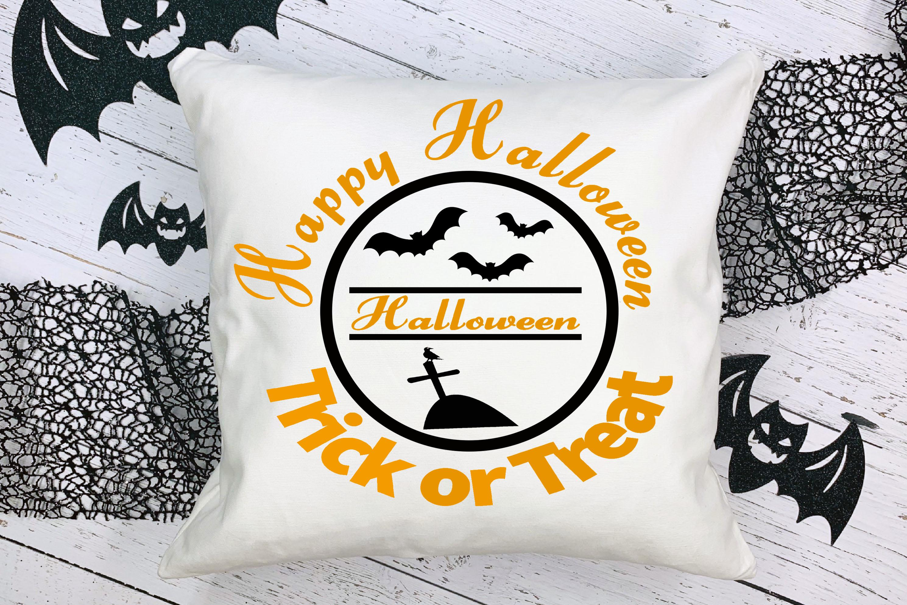 Free Trick or Treat Cushion SVG File