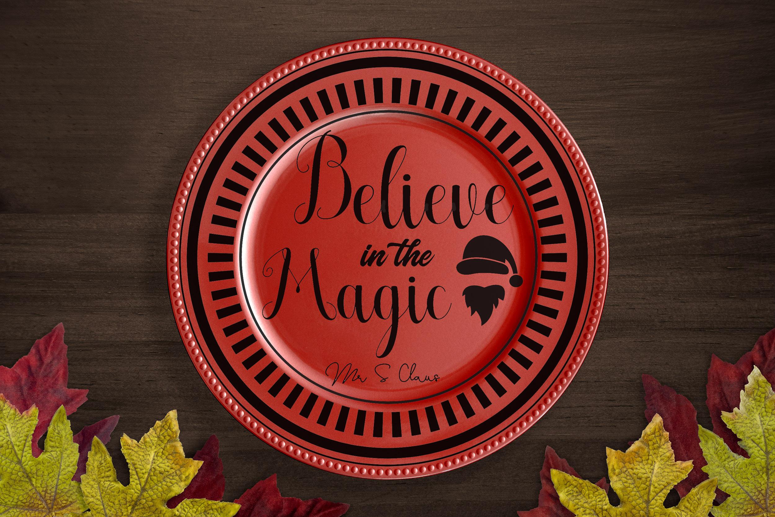 Free Believe in Magic SVG File