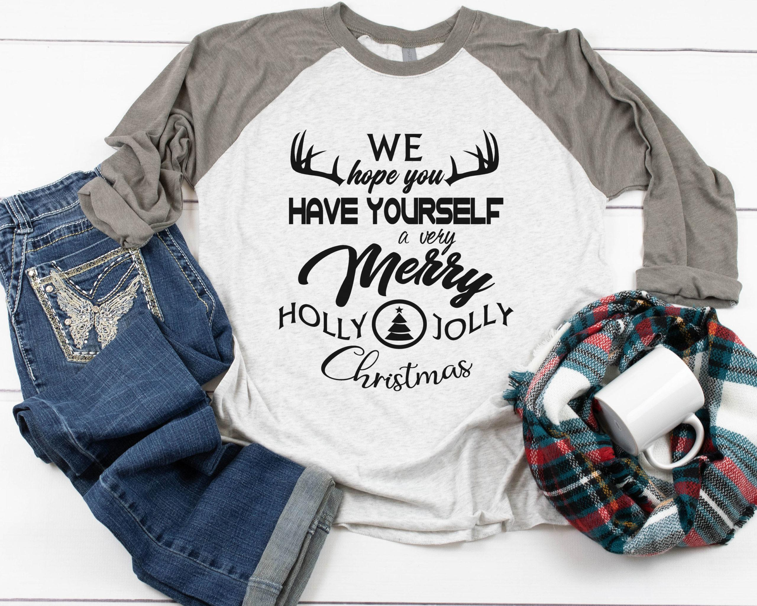 Free Holly Jolly SVG File