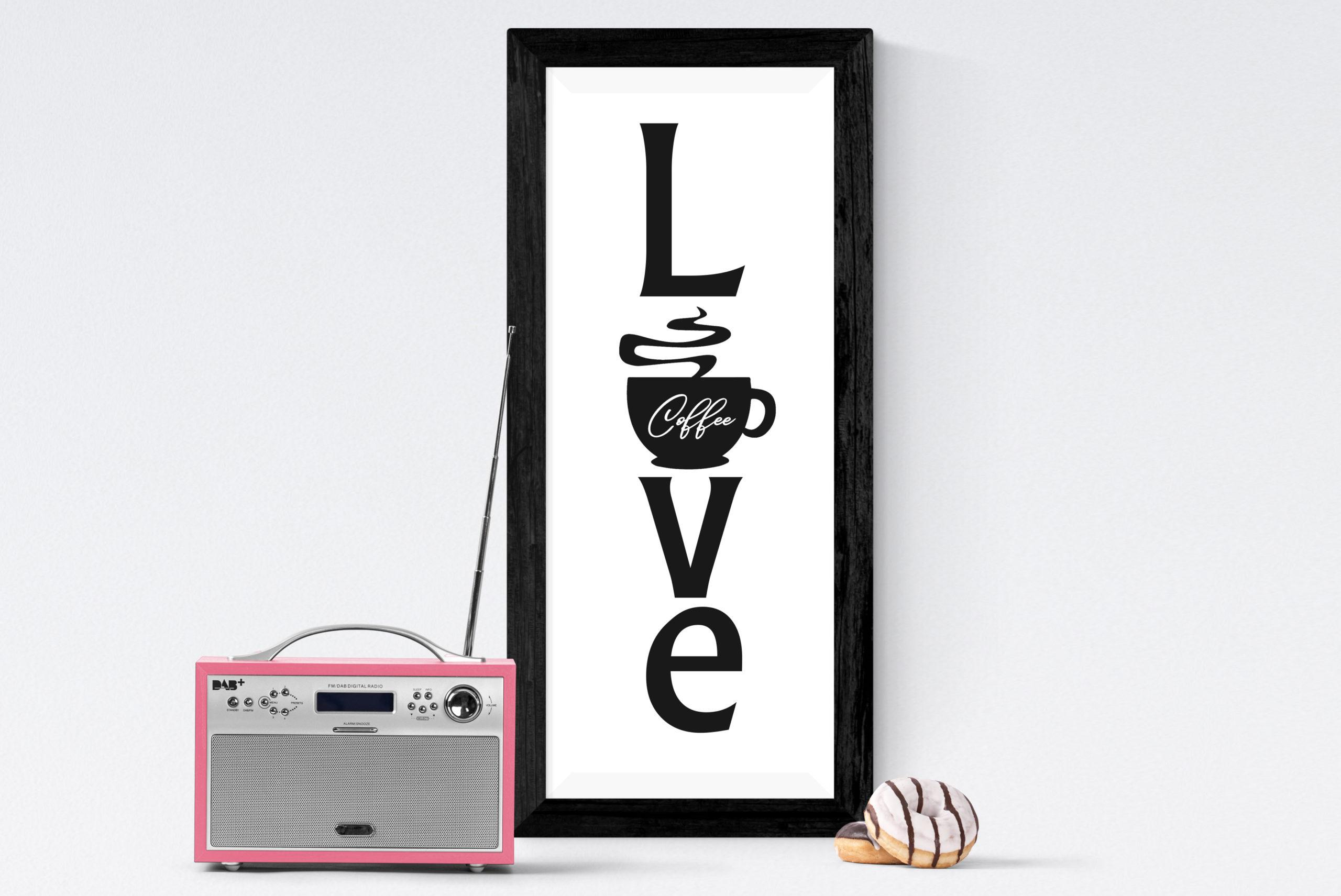 Free Love Coffee SVG File