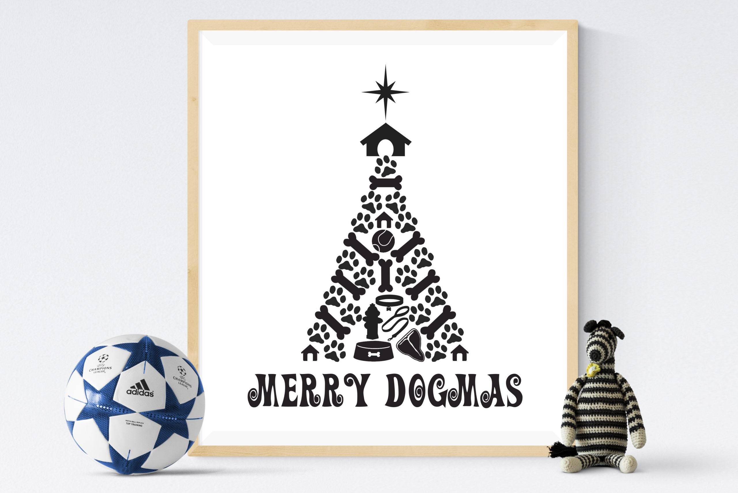 Free Merry Dogmas SVG File