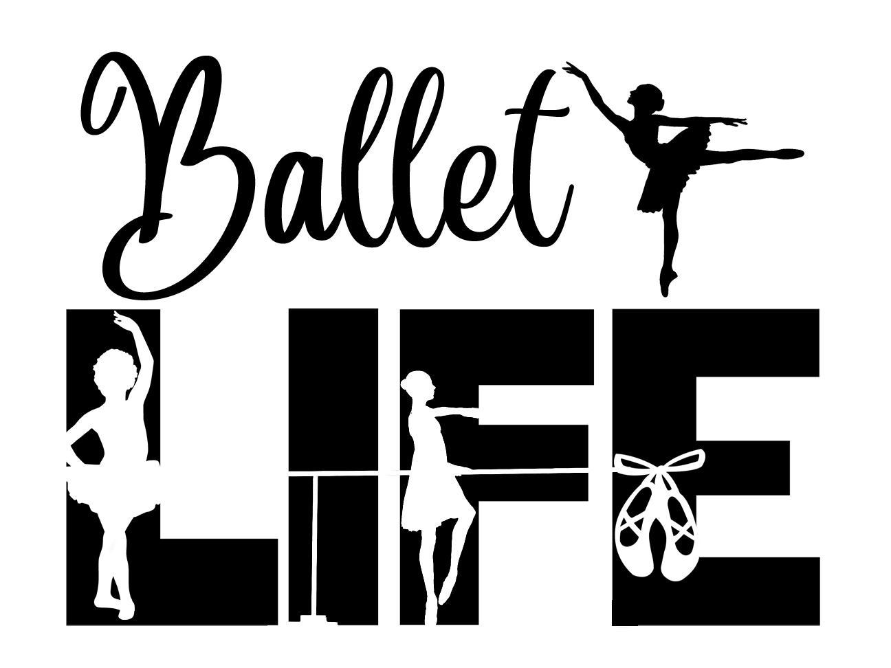 Free Ballet LIFE SVG File