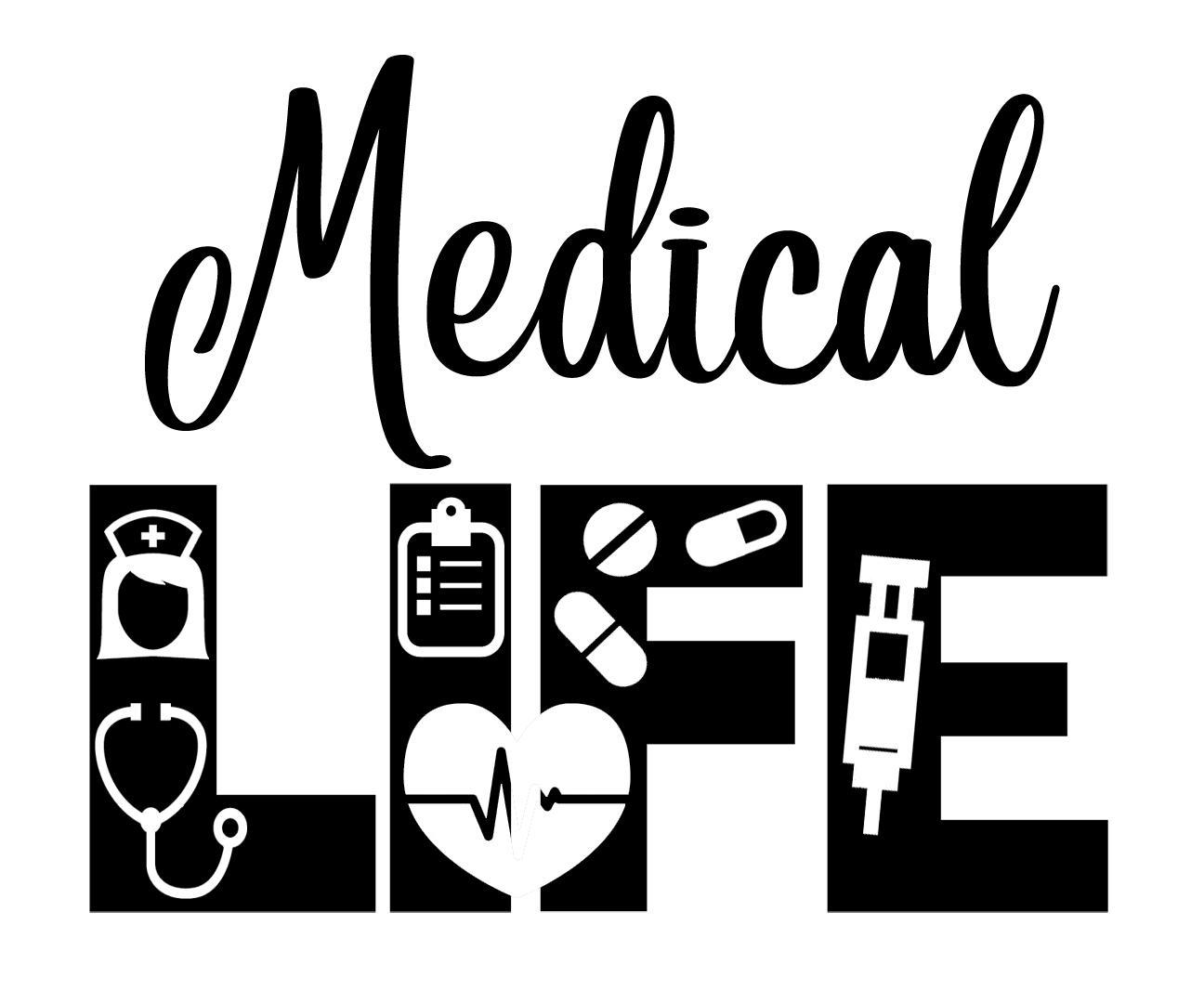 Free Medical LIFE SVG File