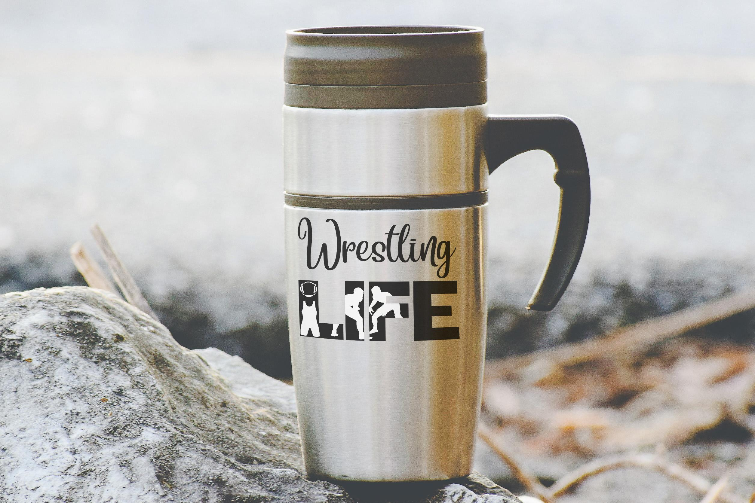 Free Wrestling LIFE SVG File