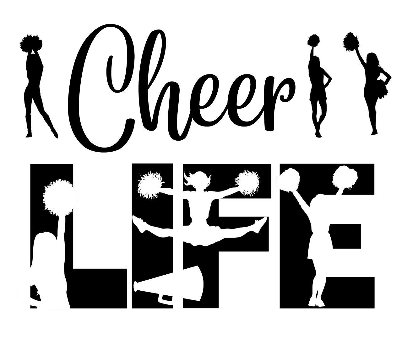 Free Cheer Life SVG File
