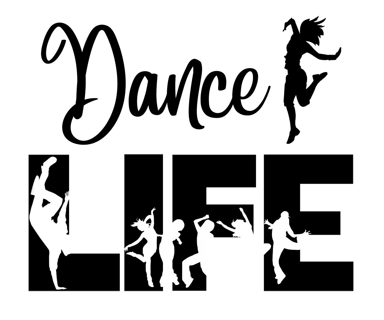Free Dance Life SVG File