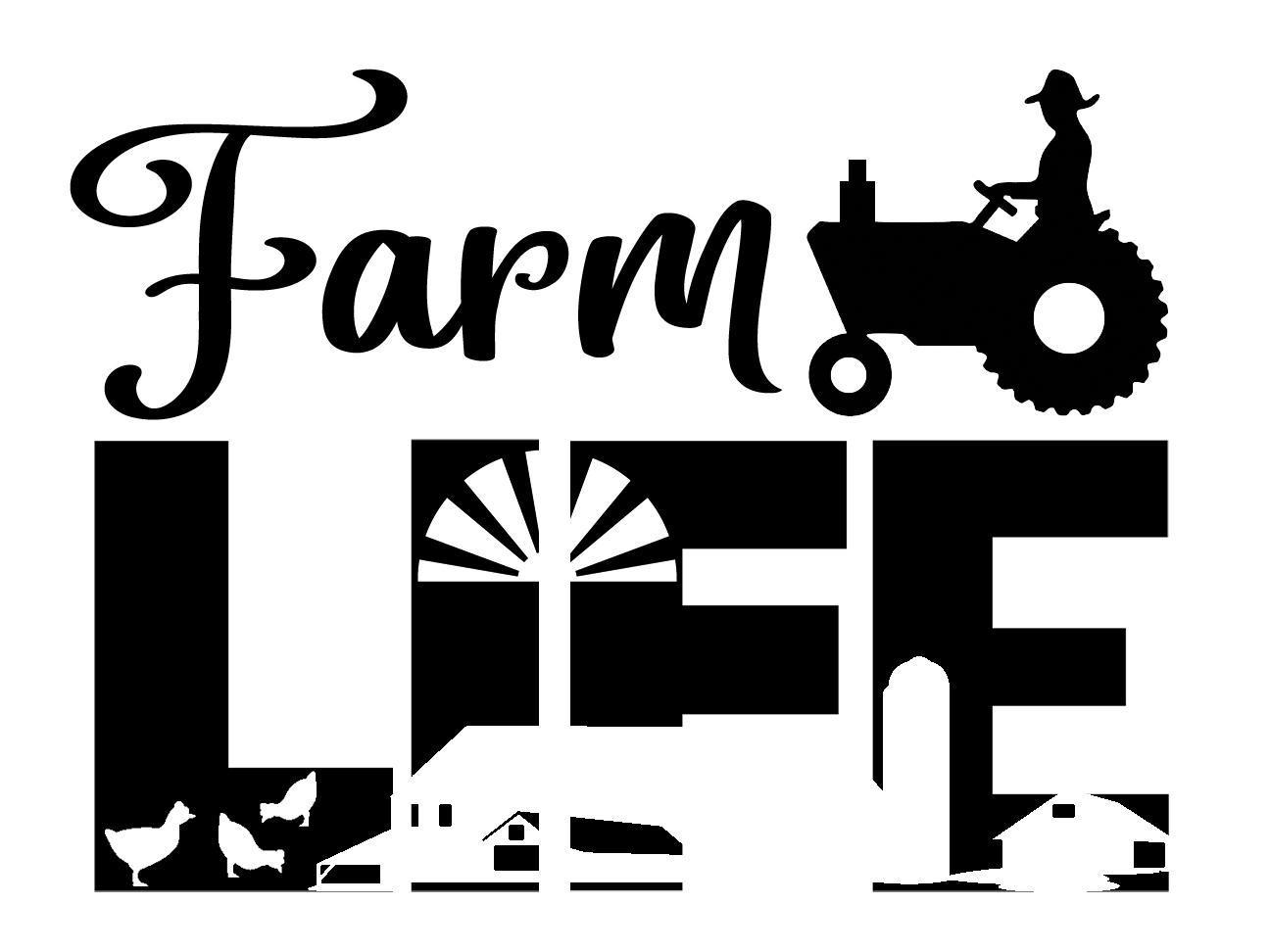 Free Farm Life SVG File