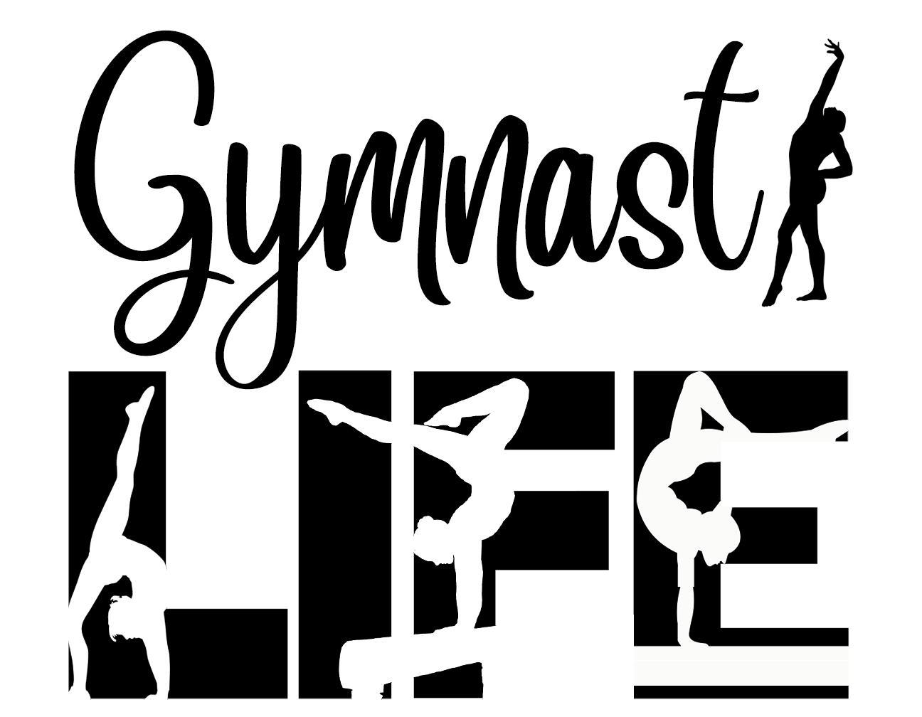 Free Gymnast Girls Life SVG File